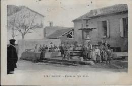 CPA Gard Circulé BELLEGARDE - Bellegarde