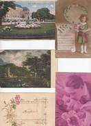 5 Cpa à Voir  (dans Leur Etat) - Postcards