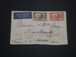 FRANCE / ALGÉRIE - Enveloppe Du Consulat Américain à Alger Pour La France En 1938 - A Voir - L 4347 - Algérie (1924-1962)