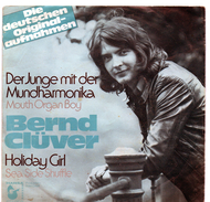 45T : BERND CLÜVER - DER JUNGE MIT DER MUNDHARMONICA - Vinyl-Schallplatten