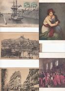 5 Cpa à Voir  (dans Leur Etat) - Cartes Postales