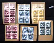 SBZ,Viererblöcke,o Alle Gep.aus 42-50 G, (106)  Preis Wurde Reduziert !! - Sowjetische Zone (SBZ)