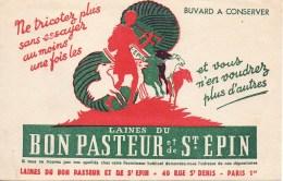 Buvard Laines Du Bon Pasteur 40 Rue St-Denis à Paris 1er - Textile & Clothing