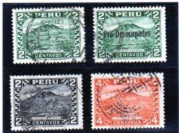 B -  1932 Peru - Arequipa Y El Misti - Peru