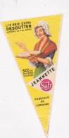 """Etiquette De Fromage  -   1/2 BRIE EXTRA DESOUTTER (noyers Le Val (Meuse) - 50 % MAT G """" JEANNETTE""""..de Lorraine - Beer"""