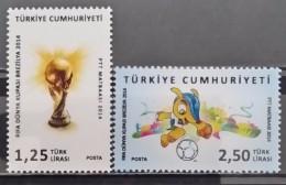Turkey, 2014, FIFA Football World Cup - Brazil (MNH) - 1921-... Republic
