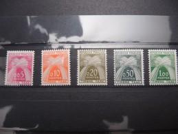 FRANCE - Taxe N° 90 à 94 Luxes - A Voir – P19401 - Postage Due