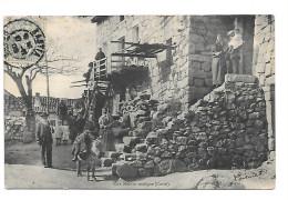 Une Maison Rustique (Corse)    Pli Derrière Timbre - Unclassified