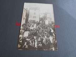 133 - AUDE, ARMISSAN , Carte Photo , Procession Dans Le Village, 1908 - France