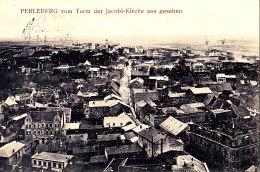 PERLEBERG / VOM TURN DER JACOBI KIRCHE AUS GESECHEN / CIRC 1913 / RARE - Perleberg