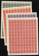 SBZ-Bogen ,Nr.116/19 X,Bogensatz,xx  (M4) - Sowjetische Zone (SBZ)