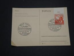 ALLEMAGNE - Oblitération De Halle / Saale En 1939 Sur Document - A Voir - L 4363 - Allemagne