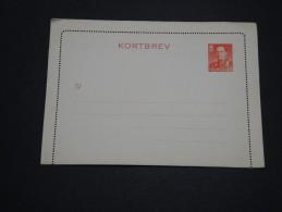 NORVÈGE - Entier Postal Non Voyagé - A Voir - L 4367