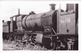 Railway Photo GWR 28xx 2818 Swindon Works 1964 Great Western Loco LNER V2 60916 - Trains