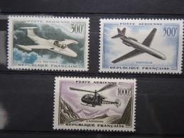 FRANCE - Poste Aérienne - N° 35 à 37 Luxes - A Voir – P19432