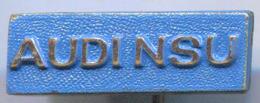 AUDI NSU - Car Auto, Automotive, Vintage Pin, Badge, Abzeichen - Audi