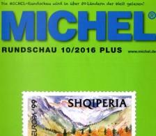 MICHEL Briefmarken Rundschau 10/2016-plus Neu 6€ New Stamp Of World Catalogue/magacine Of Germany ISBN 978-3-95402-600-5 - Libri