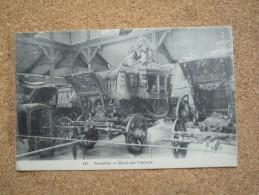 Carte Postale Versailles En Franchise Militaire Guerre De 1914/18 Cachet Hôpital Auxiliaire 114 - WW I
