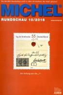 MICHEL Briefmarken Rundschau 10/2016 Neu 6€ New Stamps Of The World Catalogue/magacine Of Germany ISBN 978-3-95402-600-5 - German