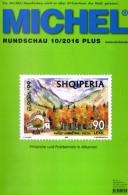 Briefmarken Rundschau MICHEL 10/2016-plus Neu 6€ New Stamp Of World Catalogue/magacine Of Germany ISBN 978-3-95402-600-5 - Deutsch