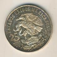 Münze Mexico 1968 Olympiade 25 Pesos Silber Ley 0,720 M Juegos De La XIX Olimpia  (031) - Mexiko