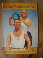 Berliner Illustrierte Zeitung, 2. Sonderheft, Die 16 Olympischen Tage 1936 !! - Zeitungen & Zeitschriften