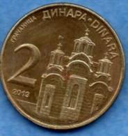 SERBIE  2 Dinara  2010  UNC/NEUVE - Serbie