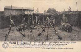 Camp De Beverloo - Fascinage, Clayonnage Et Abris Improvisés - 1913 - Manoeuvres