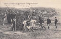 Camp De Beverloo - Travaux De L'école D'application - 1914 - Manoeuvres