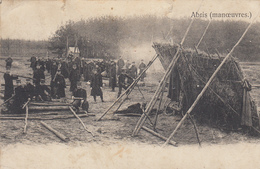 Bourg-Léopold - Abris ( Manoeuvres ) - 1913 - Manoeuvres