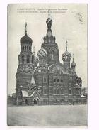 St.Petersburg - 1912 - Eglise De La Resurrection - Russia/Russie + Stamp/Timbre - Russie