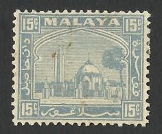 Selangor, 15 C. 1941, Sc # 52A, Mi # 41, MH - Selangor
