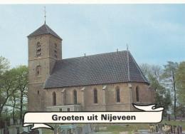 KERK / EGLISE / CHURCH / KIRCHE / NEDERLAND  / NIJEVEEN - Eglises Et Cathédrales
