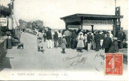 N°324 K -cpa Saint Aubin Sur Mer -lapierre à Poisson- - Saint Aubin