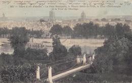 Tours à Vol D'oiseau - Le Pont Bonaparte, Le Nouvel Hôtel-de-Ville, La Tour Charlemagne Et La Tour De L'Horloge - Tours