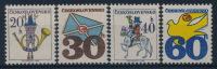 **Czechoslovakia 1974 Mi 2228x-31x (4) Normal Paper MNH - Tschechoslowakei/CSSR