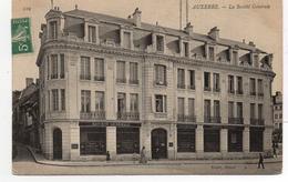 - FRANCE (89) - CPA Ayant Voyagé AUXERRE 1907 - La Société Générale - Photo Neurdein N° 119 - Edition Toulot - - Auxerre