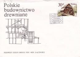 Moulins - Enveloppe - Windmills