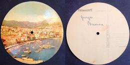 45 Tours Souple Carte Postale PHONOSCOPE - MONACO Le Port De La Condamine - Chanson : Marie Marie Marianne - Années 50 - Formats Spéciaux
