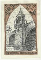 Exlibris Emmanuel Wetterwald Pont Gothique Architecture - Ex-libris
