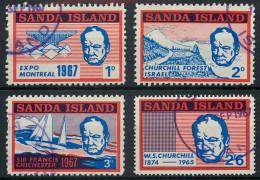 Sanda Island 1967 Winston Churchill Expo Montreal Etc Set  Used