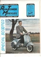 Moto Revue Technique Motocycliste N°111 Du 15 Mars 1956 Essai Du Scooterrot Bella Zundapp - Auto/Motorrad