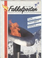 NORWAY Fakkelposten 1-1992 24 Pages Philatelic Magazine Of The Norwegian Post In Norwegian