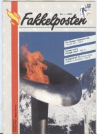 NORWAY Fakkelposten 1-1992 24 Pages Philatelic Magazine Of The Norwegian Post In English