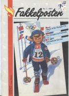 NORWAY Fakkelposten 1-1993 24 Pages Philatelic Magazine Of The Norwegian Post In English