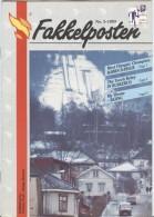 NORWAY Fakkelposten 2-1993 24 Pages Philatelic Magazine Of The Norwegian Post In English