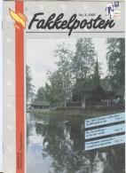 NORWAY Fakkelposten 3-1993 16 Pages Philatelic Magazine Of The Norwegian Post In English