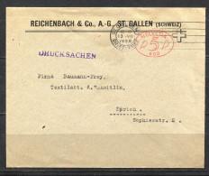 BRD, DEUTSCHLAND, GERMANY,   1933,  Freistempel - Briefe U. Dokumente