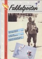 NORWAY Fakkelposten 4-1993 24 Pages Philatelic Magazine Of The Norwegian Post In English