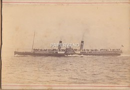 Lord Of The Isles Paddle Steamer  London Bridge To Harwich Cabinet Photo 1890's  Phot41 - Old (before 1900)